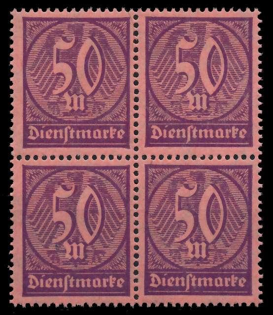 DEUTSCHES REICH DIENSTMARKEN 1920 21 Nr 73 postfrisch V 89C752