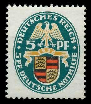 DEUTSCHES REICH 1926 Nr 398Y ungebraucht 89C782