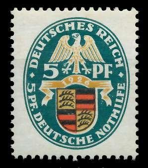 DEUTSCHES REICH 1926 Nr 398Y ungebraucht 89C78A