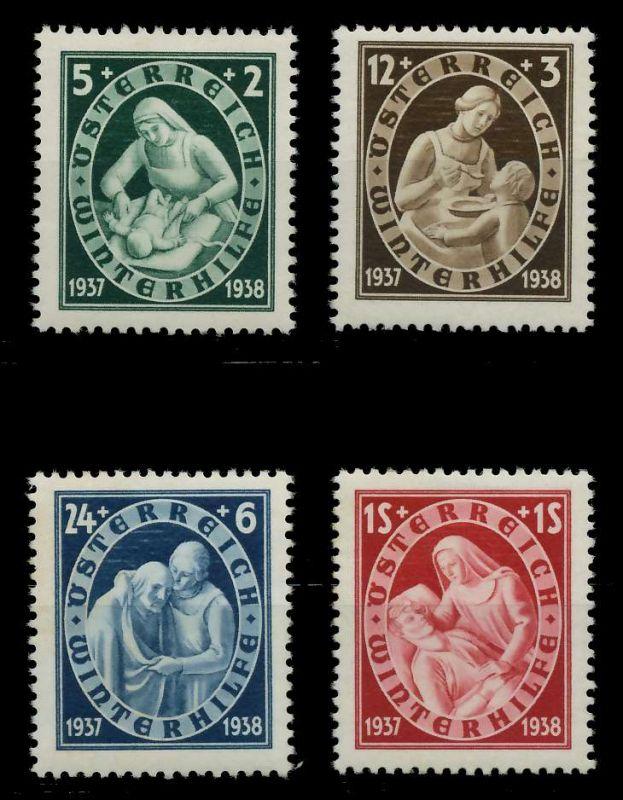 ÖSTERREICH 1937 Nr 642-645 ungebraucht 89C7DA 0