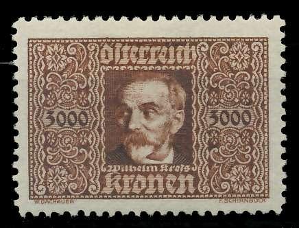ÖSTERREICH 1922 Nr 431 ungebraucht 89C82A