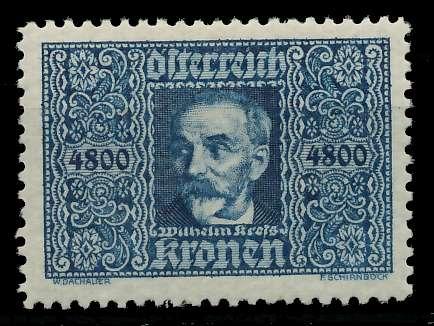 ÖSTERREICH 1922 Nr 432 ungebraucht 89C832