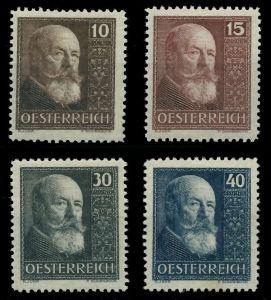ÖSTERREICH 1928 Nr 494-497 ungebraucht 89C852