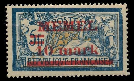 MEMEL 1920 Nr 32 ungebraucht 89C88A