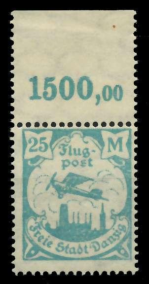 DANZIG 1923 Nr 134Y postfrisch ORA 89C8A6