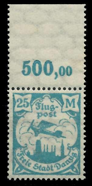 DANZIG 1923 Nr 134Y postfrisch ORA 89C8AE