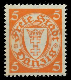 DANZIG 1924 Nr 193xb ungebraucht 89C8B2 0
