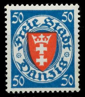 DANZIG 1924 Nr 200yba ungebraucht 89C8BA