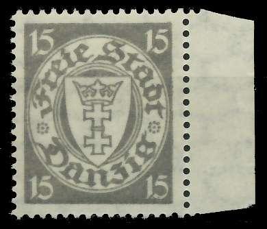 DANZIG 1924 Nr 195xa postfrisch 89C8BE 0