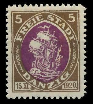 DANZIG 1921 Nr 53 postfrisch 89C8C6