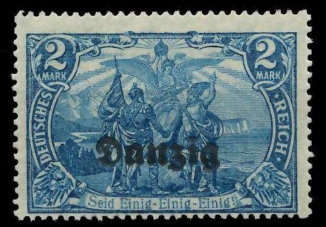 DANZIG 1920 Nr 11b postfrisch 89C8CE