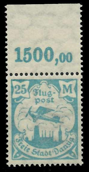 DANZIG 1923 Nr 133Y postfrisch ORA 89C8D2
