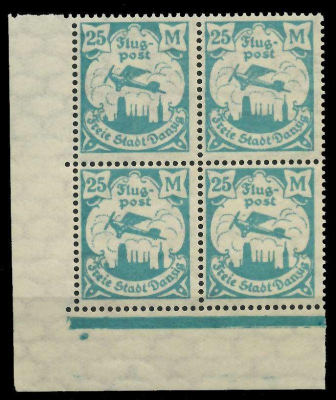 DANZIG 1923 Nr 133Y postfrisch ECKE-ULI 89C8D6