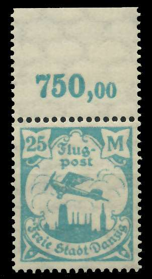DANZIG 1923 Nr 133Y postfrisch ORA 89C8E2