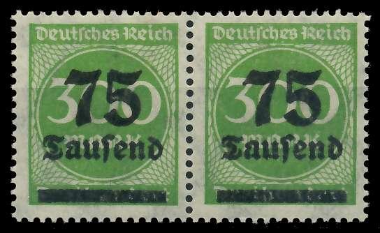 DEUTSCHES REICH 1923 HOCHINFLA Nr 286 postfrisch WAAGR 89C8F6