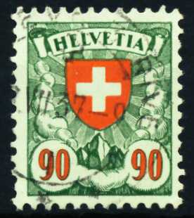 SCHWEIZ 1924 Nr 194z gestempelt 4C6622