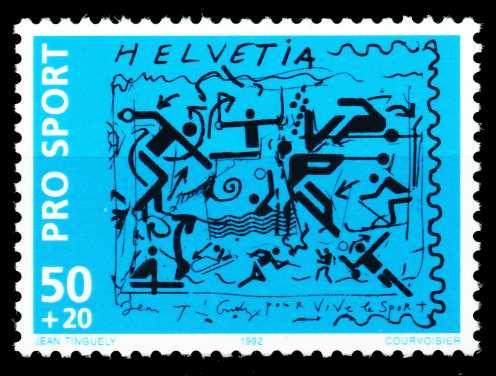 SCHWEIZ 1992 Nr 1482 postfrisch 557206