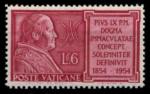 VATIKAN 1954 Nr 216 postfrisch 7C4C12
