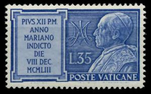 VATIKAN 1954 Nr 219 postfrisch 7C4BF6