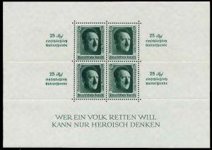 DEUTSCHES REICH 1937 Block 11 postfrisch 8B0462