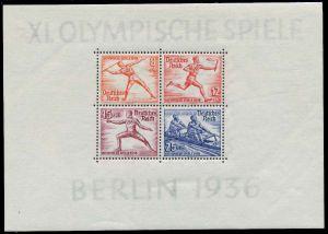 DEUTSCHES REICH 1936 Block 6 postfrisch 8B0482