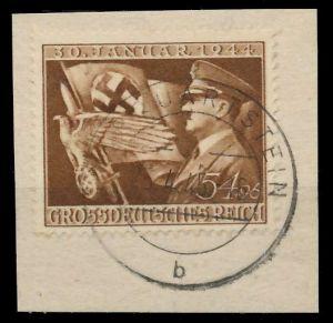 DEUTSCHES REICH 1944 Nr 865 zentrisch gestempelt Briefst³ck 8B04D6
