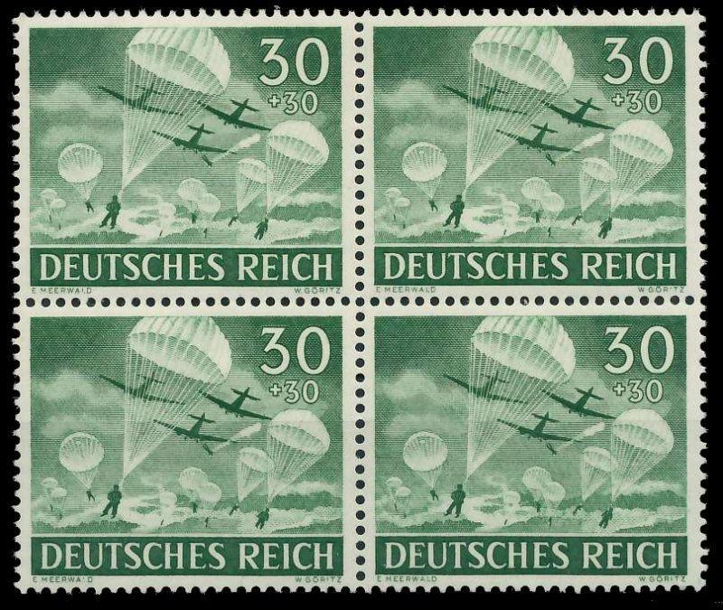 DEUTSCHES REICH 1943 Nr 840 postfrisch VIERERBLOCK 8B06EE