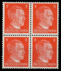 DEUTSCHES REICH 1941 Nr 786 postfrisch VIERERBLOCK 8B0782