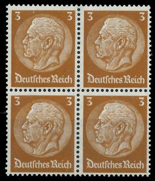 DEUTSCHES REICH 1933 Nr 513 postfrisch VIERERBLOCK 8B504E