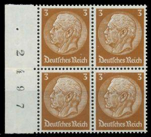 DEUTSCHES REICH 1933 Nr 513 postfrisch VIERERBLOCK SRA 8B505A