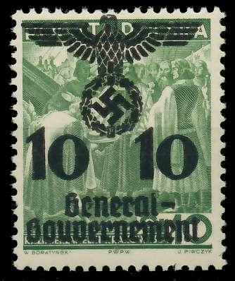 GENERALGOUVERNEMENT Nr 21 postfrisch 8B517A