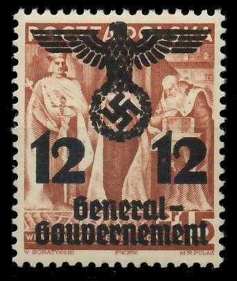 GENERALGOUVERNEMENT Nr 33I postfrisch 8B517E