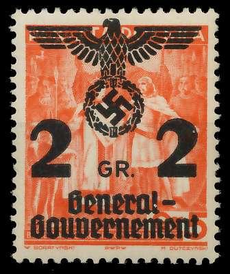 GENERALGOUVERNEMENT Nr 17 postfrisch 8B5182