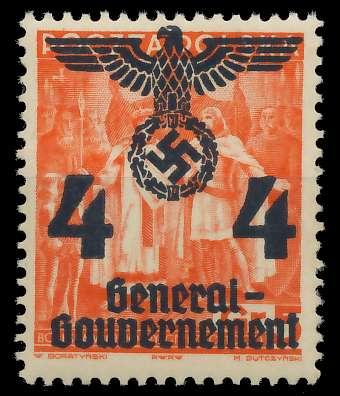 GENERALGOUVERNEMENT Nr 18 postfrisch 8B5186