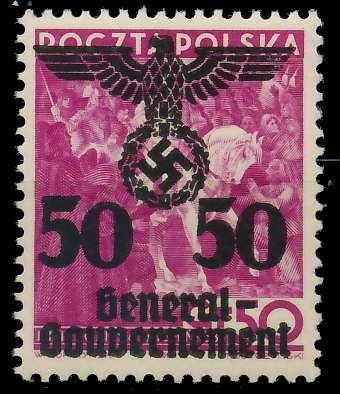 GENERALGOUVERNEMENT Nr 24I postfrisch 8B518E