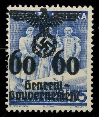 GENERALGOUVERNEMENT Nr 25 postfrisch 8B5192