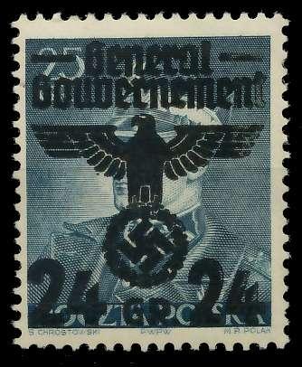 GENERALGOUVERNEMENT Nr 14II postfrisch 8B51BA