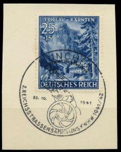 DEUTSCHES REICH 1941 Nr 809 zentrisch gestempelt Briefst³ck 8B51D6