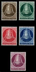 BERLIN 1951 Nr 75-79 postfrisch 6E0EF6