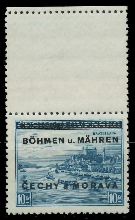 BÖHMEN MÄHREN Nr 19LSo postfrisch SENKR PAAR 8C33A2