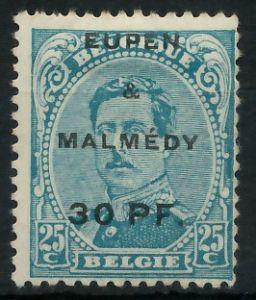 BELGISCHE BES.-POST EUPEN MALMEDY Nr 5 ungebraucht 8C33EE