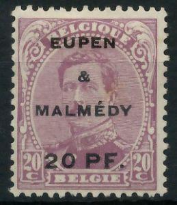 BELGISCHE BES.-POST EUPEN MALMEDY Nr 4 ungebraucht 8C33F2