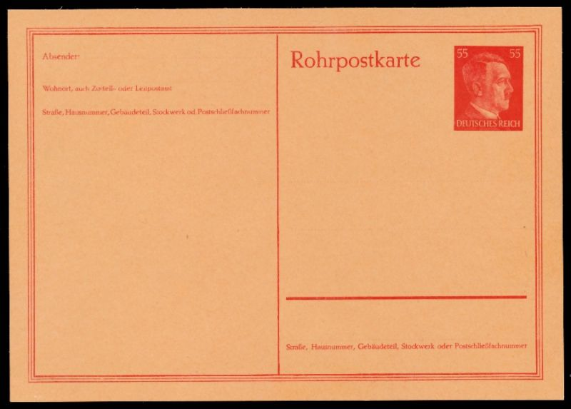 DEUTSCHES REICH Nr RP26 UNGEBRAUCHT POSTKARTE 8CC6D6