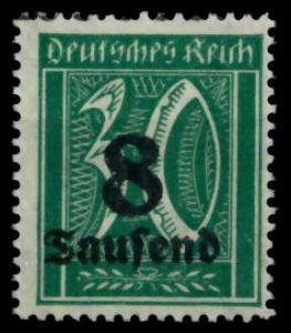 D-REICH INFLA Nr 278X postfrisch 6D618A