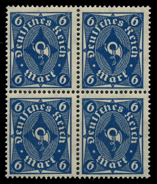 D-REICH 1922 INFLA Nr 228P postfrisch VIERERBLOCK 8CCAAE