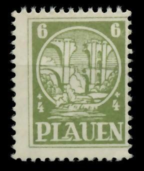 LOKALAUSGABEN 1945 PLAUEN Nr 2y postfrisch 8CCAEA