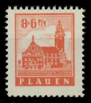 LOKALAUSGABEN 1945 PLAUEN Nr 4y postfrisch 8CCAF2