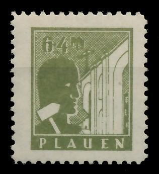 LOKALAUSGABEN 1945 PLAUEN Nr 3v postfrisch 8CCAF6