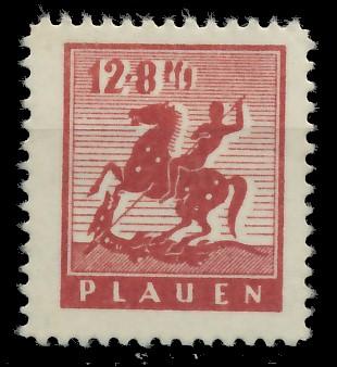 LOKALAUSGABEN 1945 PLAUEN Nr 5y postfrisch 8CCAFE
