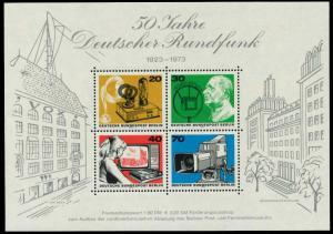 BERLIN BLOCK KLEINBOGEN Block 4 postfrisch S93AECE